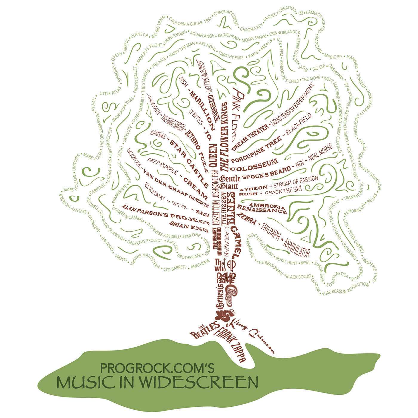 Progrock.com's - Music in Widescreen's - Progressive Rock Podcast